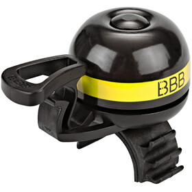 BBB EasyFit Deluxe BBB-14 Bike Bell yellow/black